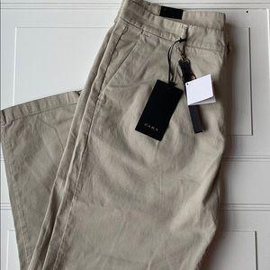 NWT Zara Men Tan Dress Pants SZ 34